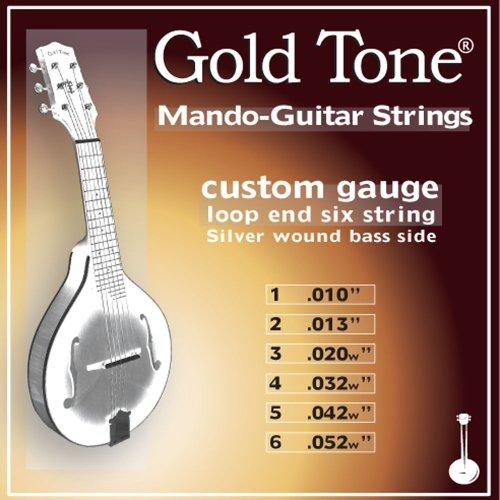 Custom Gauge F-Style Mando-Guitar Strings