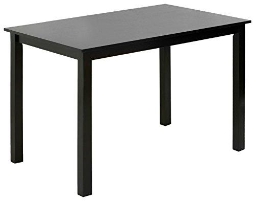 Furinno Franklin Solid Wood Dining Table, Espresso (Only Table)