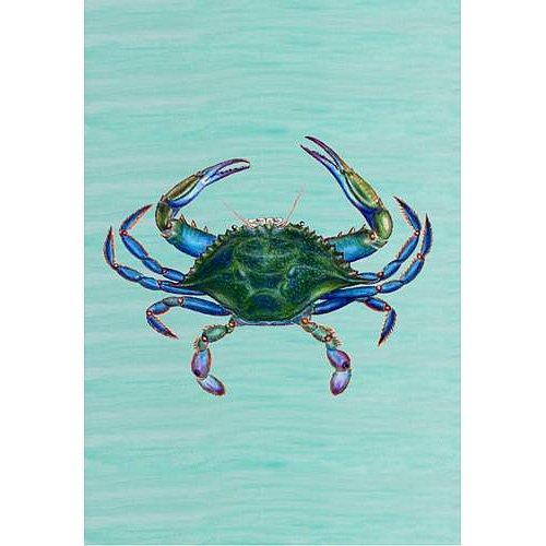Male Blue Crab Flag 12.5x18