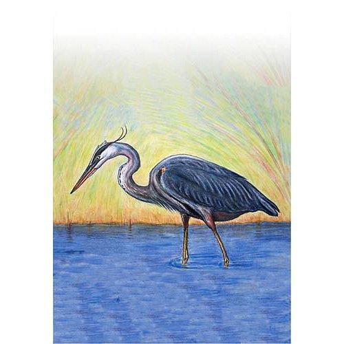 Blue Heron Flag 28x40