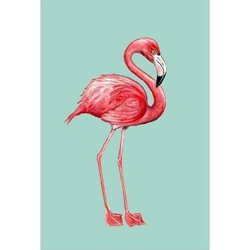Flamingo Flag 28x40