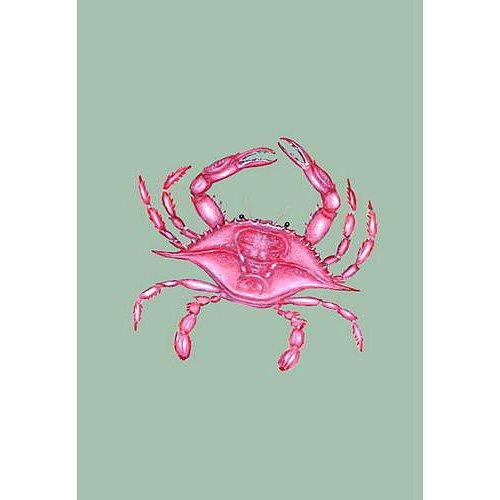 Pink Crab Flag 12.5x18
