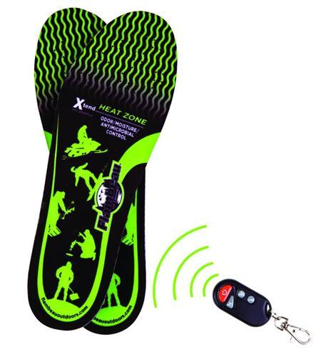 Hot Feet Heated Insoles Kit w/Remote- M