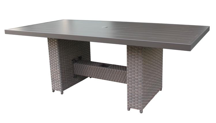 Florence Rectangular Outdoor Patio Dining Table [Item # FLORENCE-DTREC-DINING-TABLE]