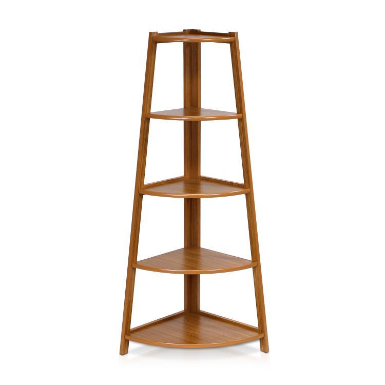 Furinno Yaotai 5-Layer Corner Ladder Garden Shelf