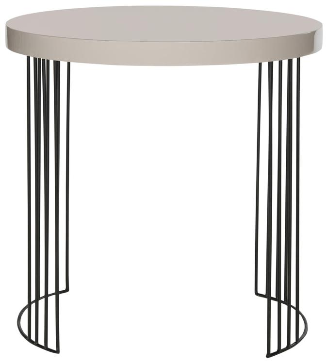 Kelly Mid Century Scandinavian Lacquer Side Table