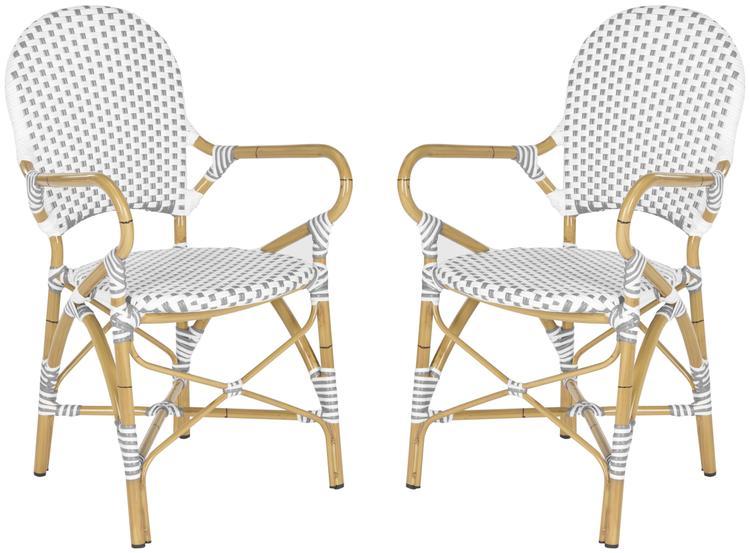 Safavieh Hooper Indoor-Outdoor Stacking Arm Chair