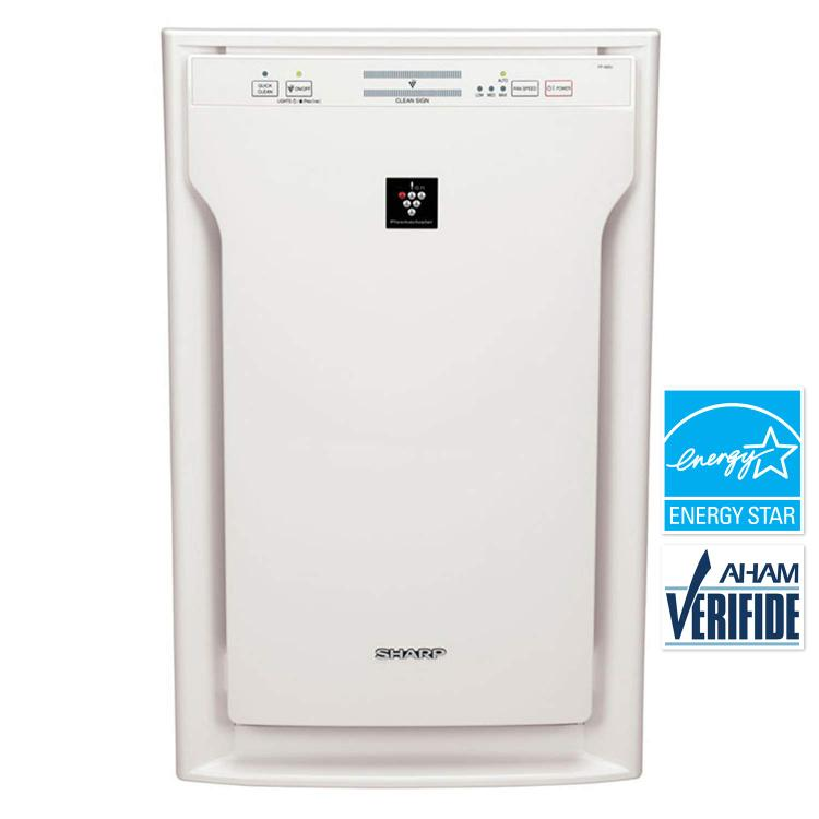 Sharp Dual-Action Plasmacluster Air Purifier with HEPA Filter