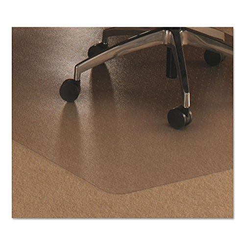 Cleartex Ultimat Polycarbonate Rectangular Chairmat for Low & Medium Pile Carpets up to 1/2