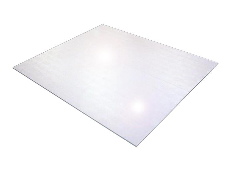 Cleartex XXL General Purpose Office Mat    Strong Polycarbonate   For Hard Floor or Low/Medium Pile Carpet   Large Square Size 60
