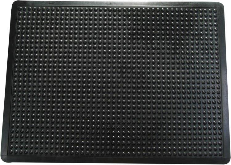 Doortex | Anti-Fatigue Bubble Mat | Black | Size 24