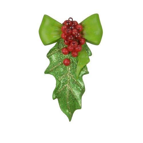 Holy Leaf Ornament Figurine