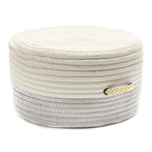 Colonial Mills Color Block Pouf Shadow/Yellow 20
