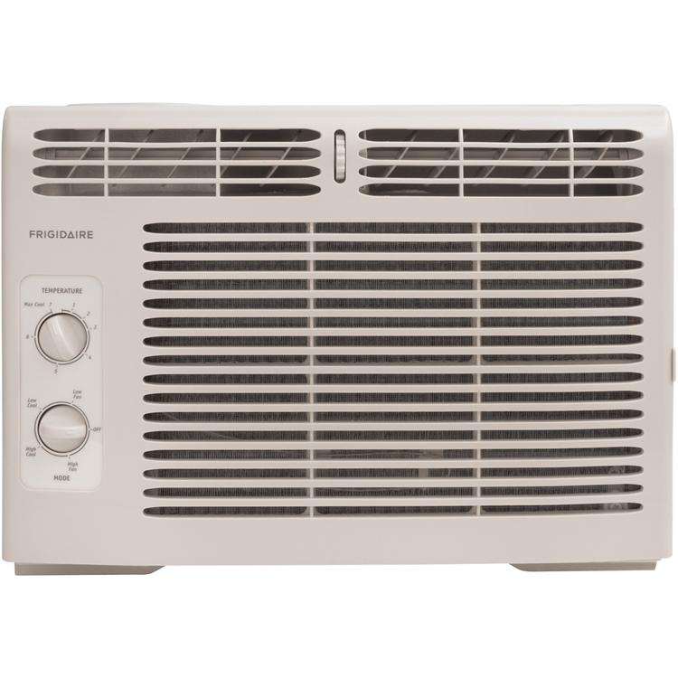 8,000 BTU 115-Volt Window-Mounted Compact Air Conditioner with Mechanical Controls