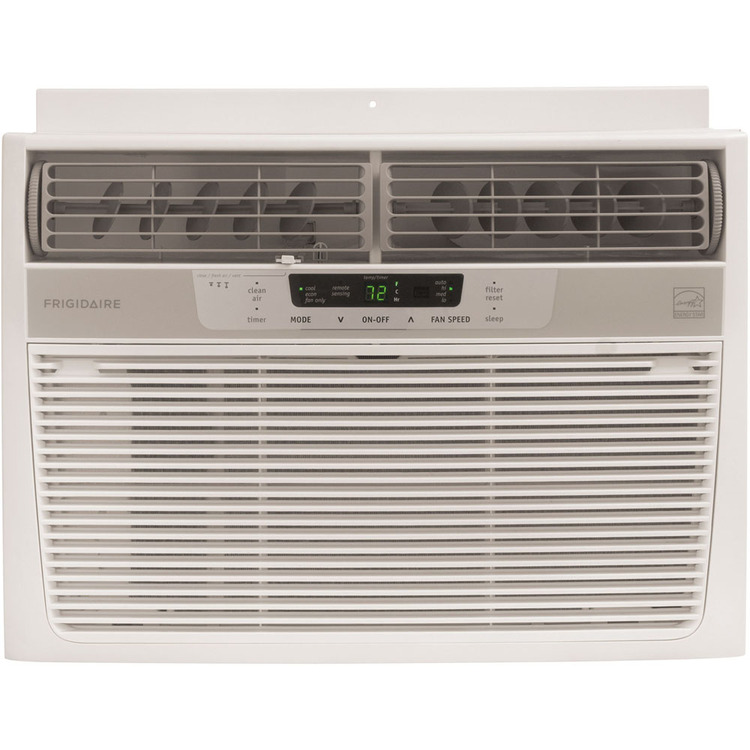 Energy Star 18,500 BTU 230-Volt Window-Mounted Median Air Conditioner with Temperature Sensing Remote Control