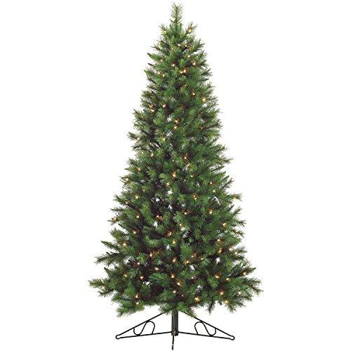 6.5-Ft. Canyon Pine Half-Wall or Corner Christmas Tree with Clear Lights