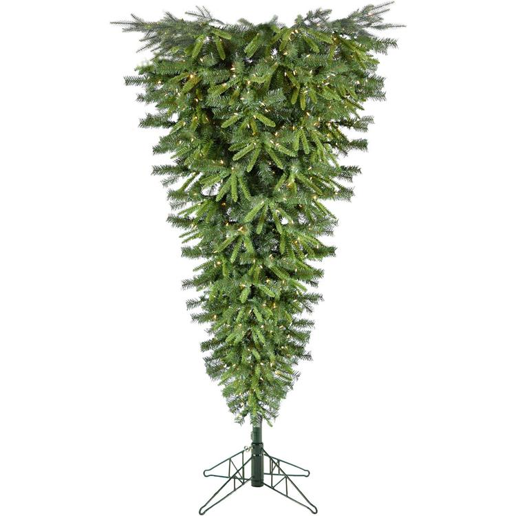 7-Ft. Canyon Pine Upside Down Christmas Tree [Item # FRASERFFCM070C-3GR]