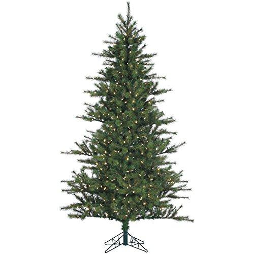 Southern Peace Pine Christmas Tree with Clear LED Lighting
