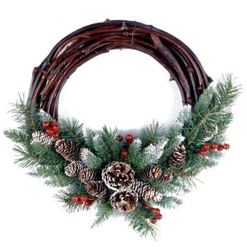 National Tree Frosted Berry Grapevine Wreath