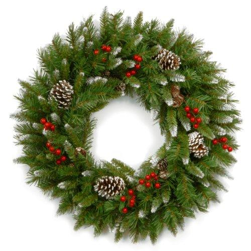 National Tree Frosted Berry Wreath