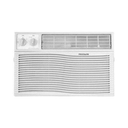 FFRA1211U1 12000 BTU 115V Window-Mounted Compact Air Conditioner With Mechanical Controls, White
