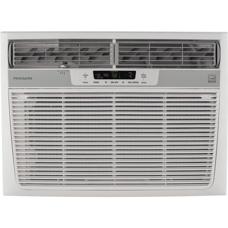 Frigidaire 18,000 BTU 230V Window-Mounted Median Air Conditioner with Temperature Sensing Remote Control