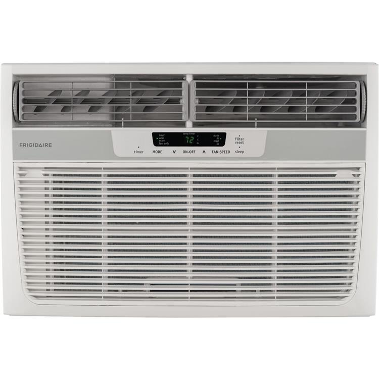 Frigidaire 12,000 BTU 230V Compact Slide-Out Chassis Air Conditioner with 11,000 BTU Supplemental Heat Capability