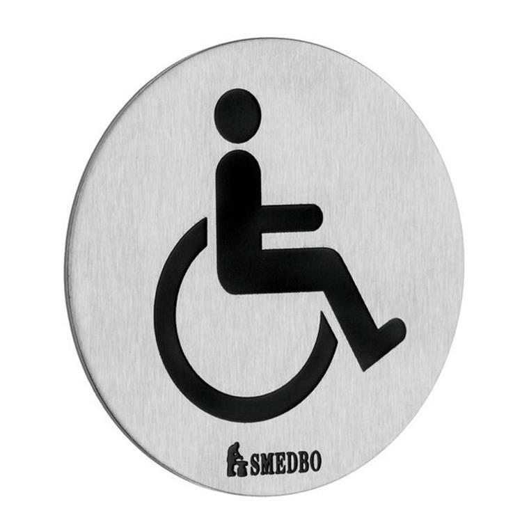 Handicapped Restroom Sign