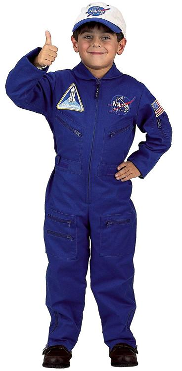 Flight Suit with Embroidered Cap, size 2/3