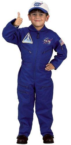 Flight Suit with Embroidered Cap, size 6/8