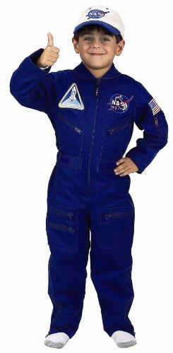 Flight Suit with Embroidered Cap, size 8/10