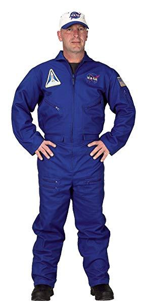 Adult Flight Suit with Embroidered Cap LRG