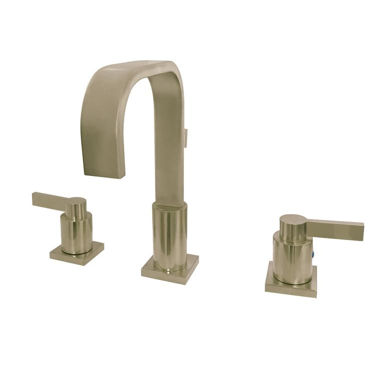 Fauceture FSC8963NDL 8-Inch Widespread Lavatory Faucet, Satin Brass