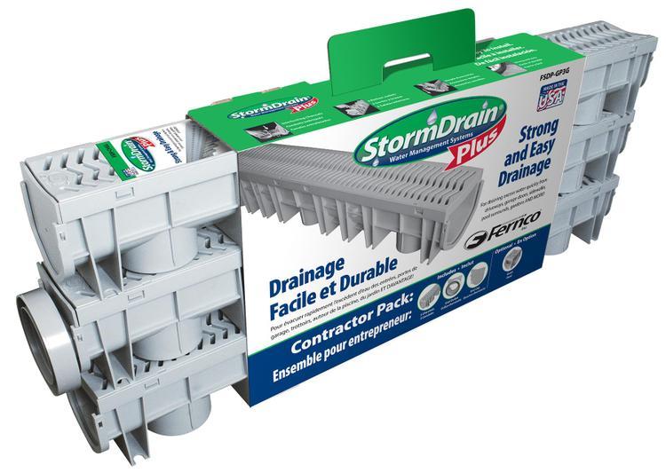Fsdp-Gp3G Storm Drain Kit 3-4