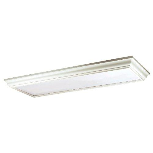 Yosemite Home Decor 4 Lights Fluorescent Lighting in White Finish