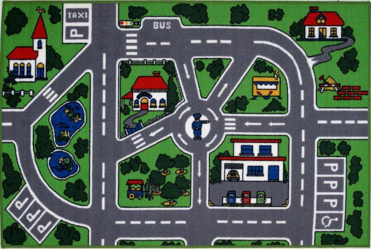 Fun Rugs Streets 39