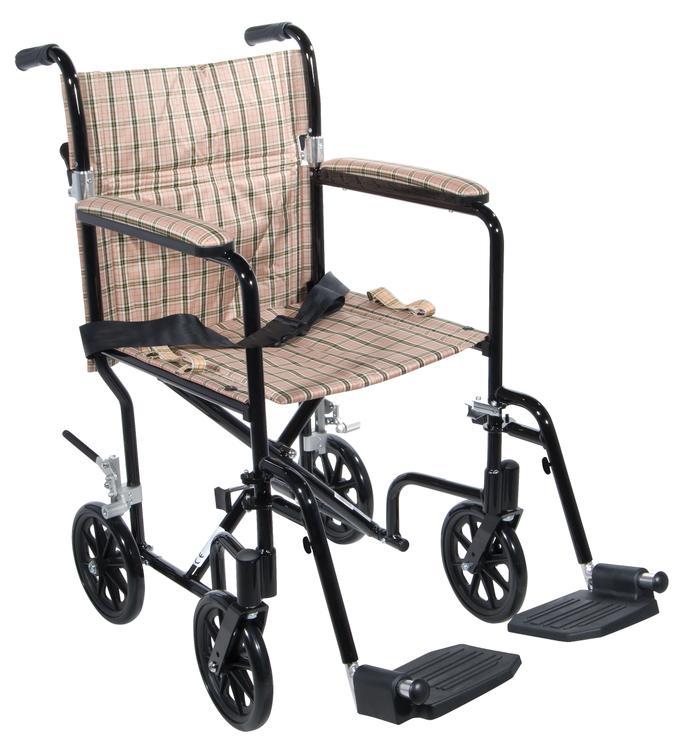 Flyweight Lightweight Transport Wheelchair