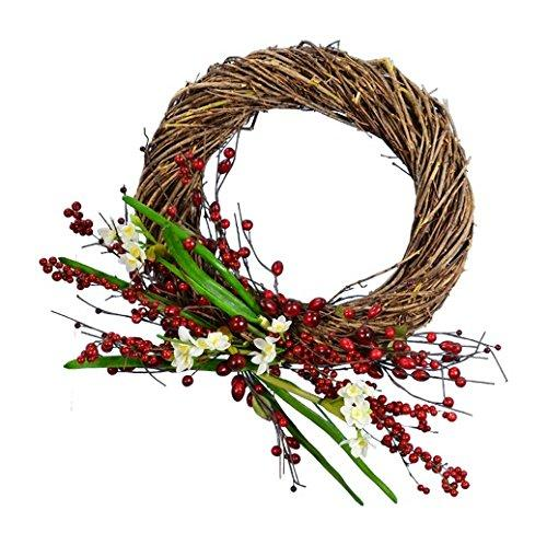 Narcissus Wreath W/ Berry