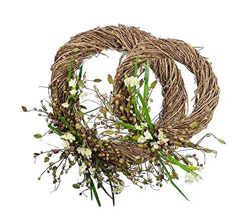 Narcissus Wreath X2Pc