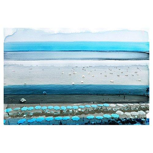 Spiagga by Parvez Taj Painting Print on Wrapped Canvas