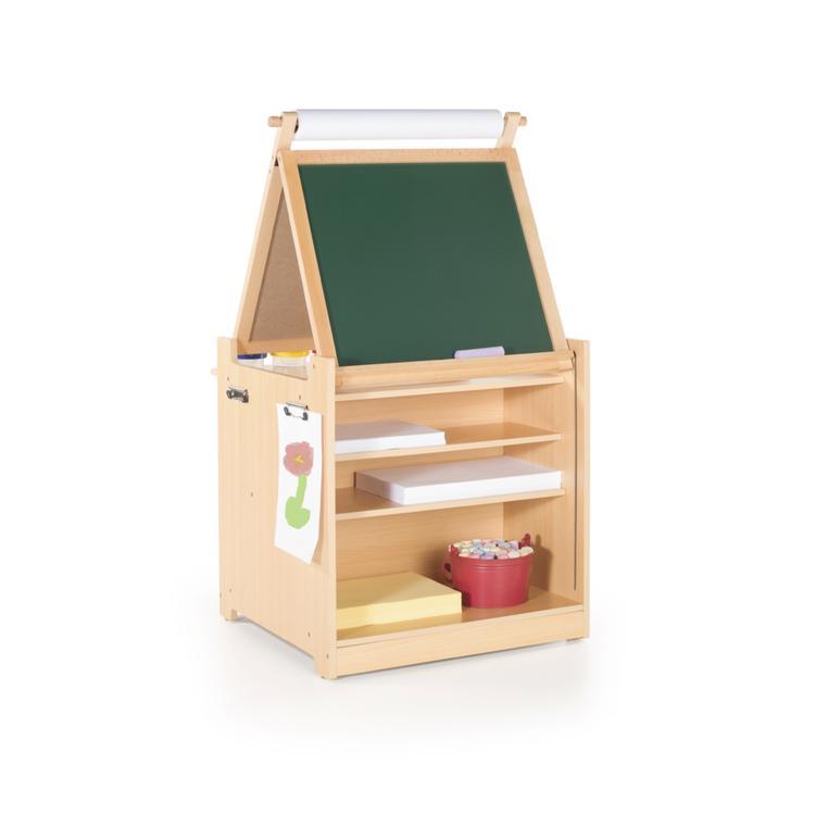 Desk to Easel Art Cart