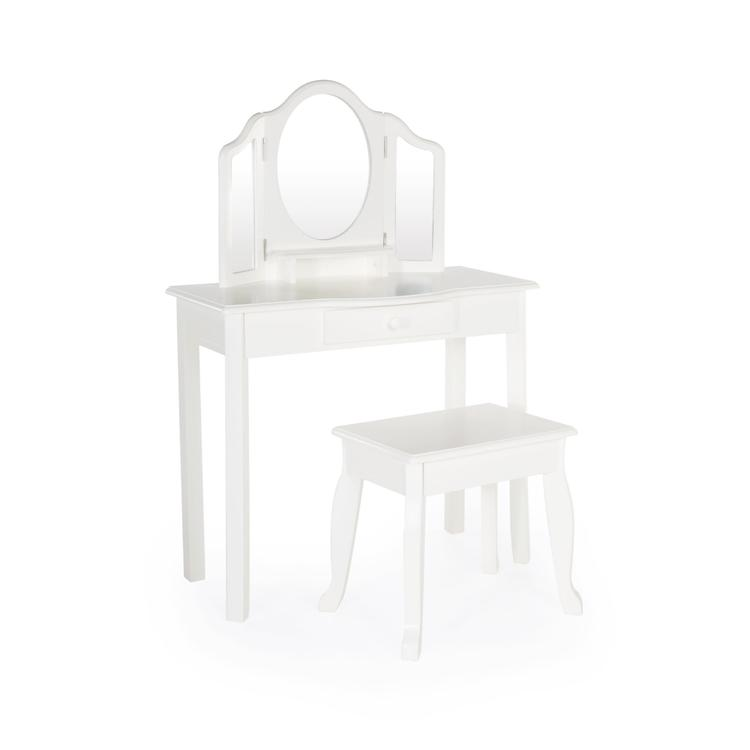 Classic Vanity and Stool