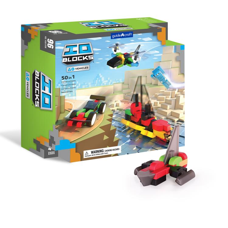 IO Blocks® Vehicles - 96 Piece Set