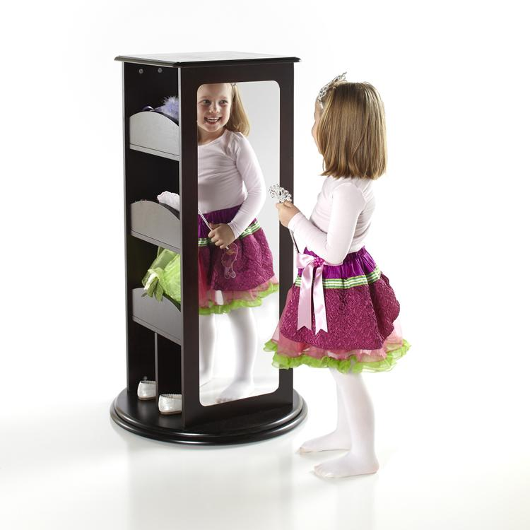 Rotating Dress-Up Storage