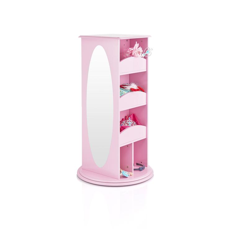 Rotating Dress-Up Storage Center