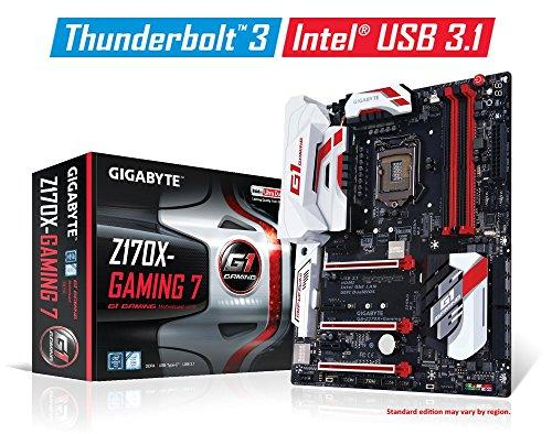 Gigabyte Motherboard GA-Z170X-GAMING 7 LGA1151 Z170 DDR4 USB3.1 ThunderBolt ATX Retail