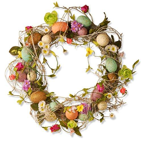 National Tree Garden Accents Easter Egg Wreath