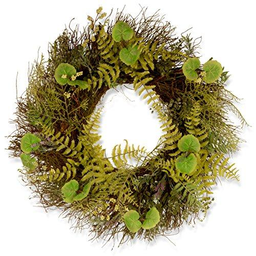 Garden Accents Fern and Lavender Wreath