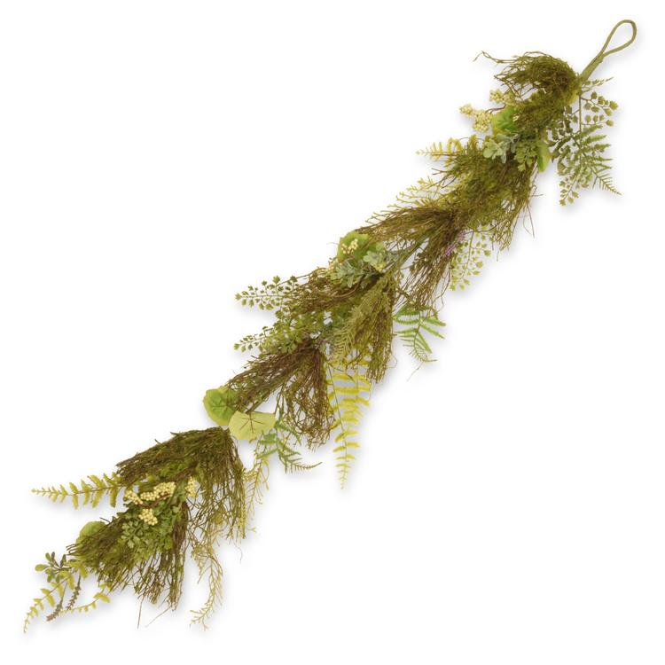 National Tree Garden Accents Fern and Lavender Garland