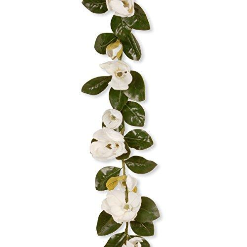 National Tree Garden Accents Magnolia Garland
